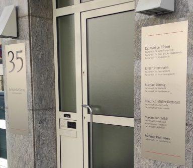 Kontakt Anwaltskanzlei Schütz und Kleine Heilbronn